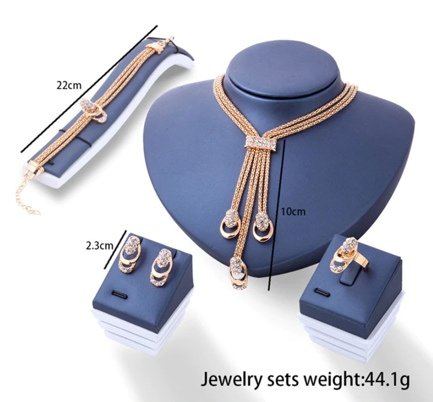 M0309 gold7 Jewelry Accessories Jewelry Sets maureens.com boutique
