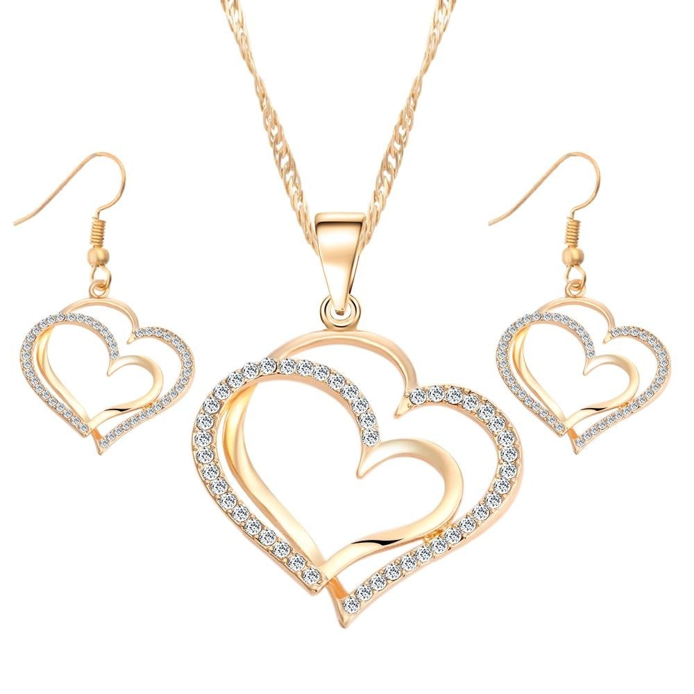 M0310 gold1 Jewelry Accessories Jewelry Sets maureens.com boutique
