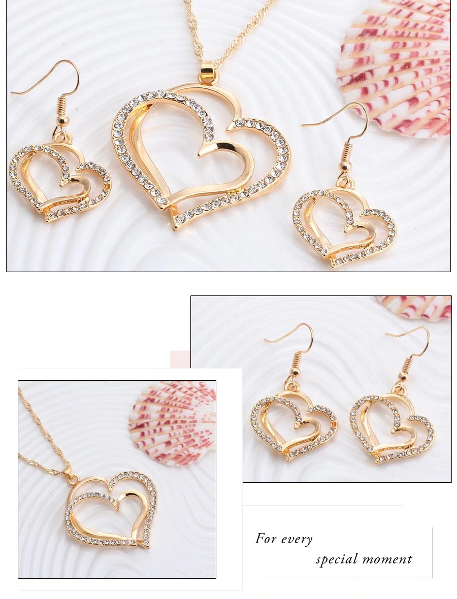 M0310 gold4 Jewelry Accessories Jewelry Sets maureens.com boutique