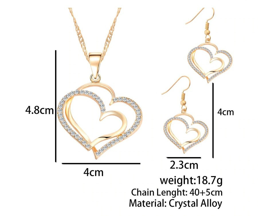 M0310 gold6 Jewelry Accessories Jewelry Sets maureens.com boutique