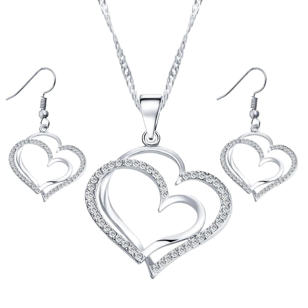 M0310 silver1 Jewelry Accessories Jewelry Sets maureens.com boutique