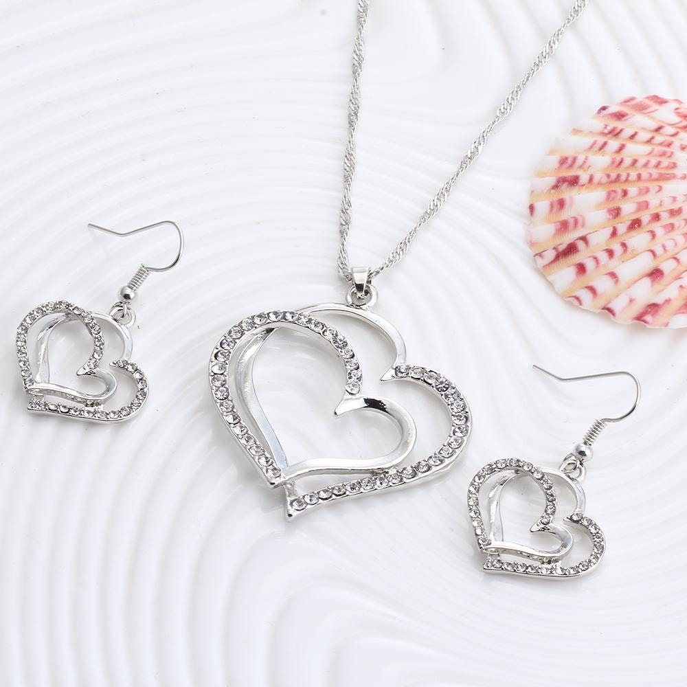 M0310 silver2 Jewelry Accessories Jewelry Sets maureens.com boutique