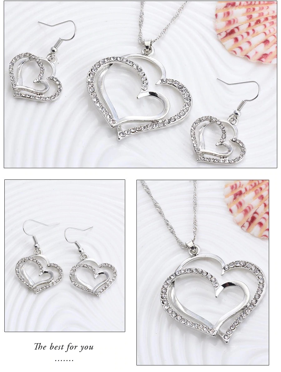 M0310 silver3 Jewelry Accessories Jewelry Sets maureens.com boutique