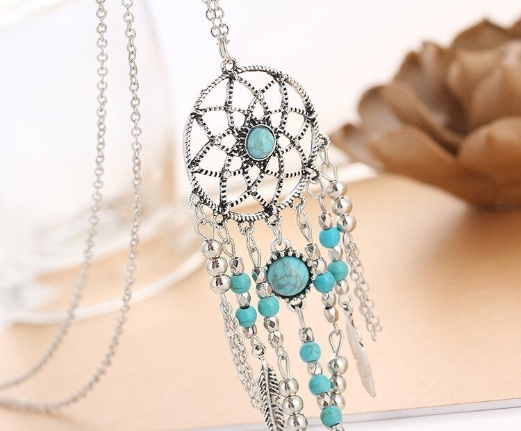 M0312 silver3 Jewelry Accessories Necklaces Chokers maureens.com boutique