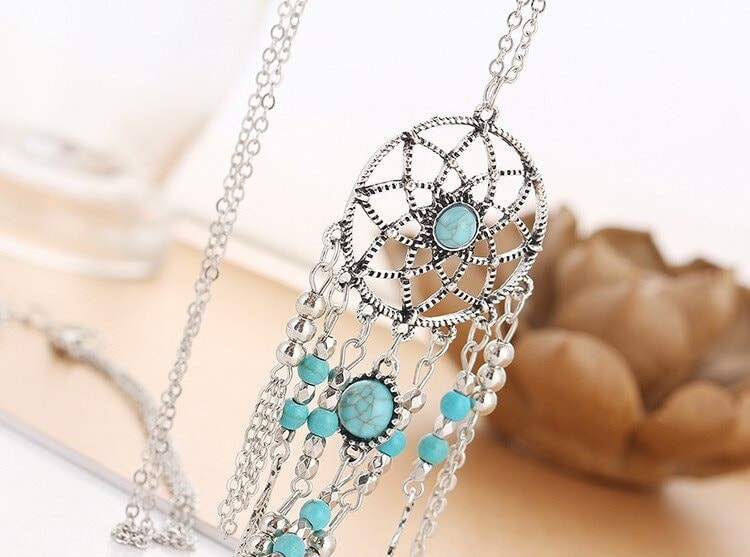 M0312 silver4 Jewelry Accessories Necklaces Chokers maureens.com boutique