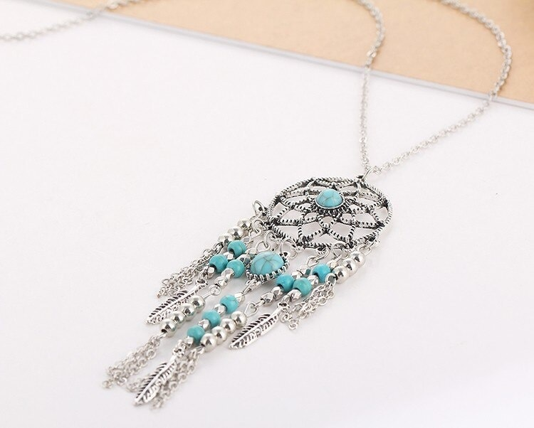 M0312 silver7 Jewelry Accessories Necklaces Chokers maureens.com boutique