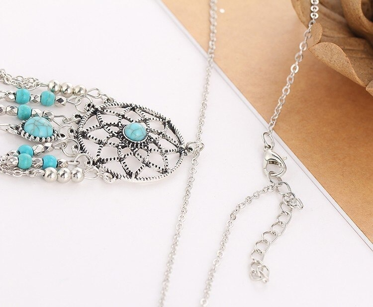 M0312 silver8 Jewelry Accessories Necklaces Chokers maureens.com boutique