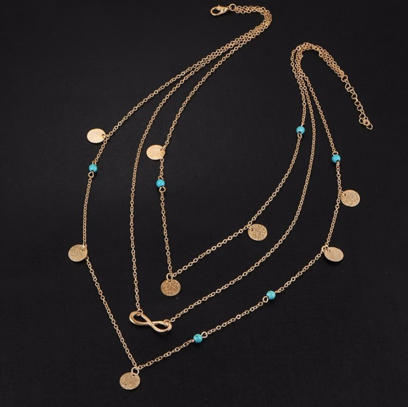 M0315 gold 1sty2 Jewelry Accessories Necklaces Chokers maureens.com boutique