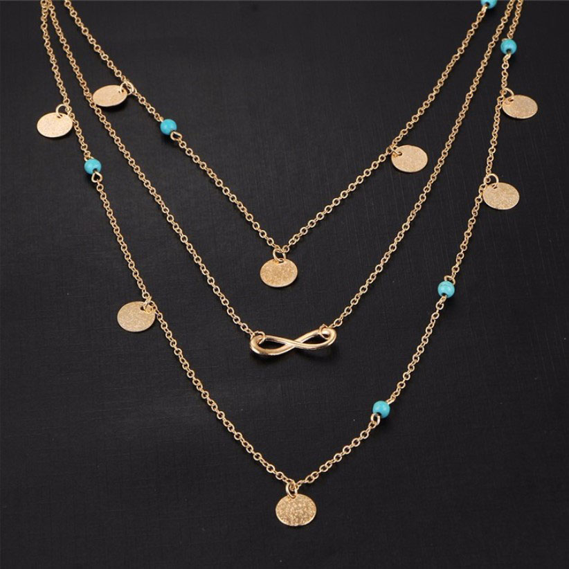M0315 gold 1sty3 Jewelry Accessories Necklaces Chokers maureens.com boutique