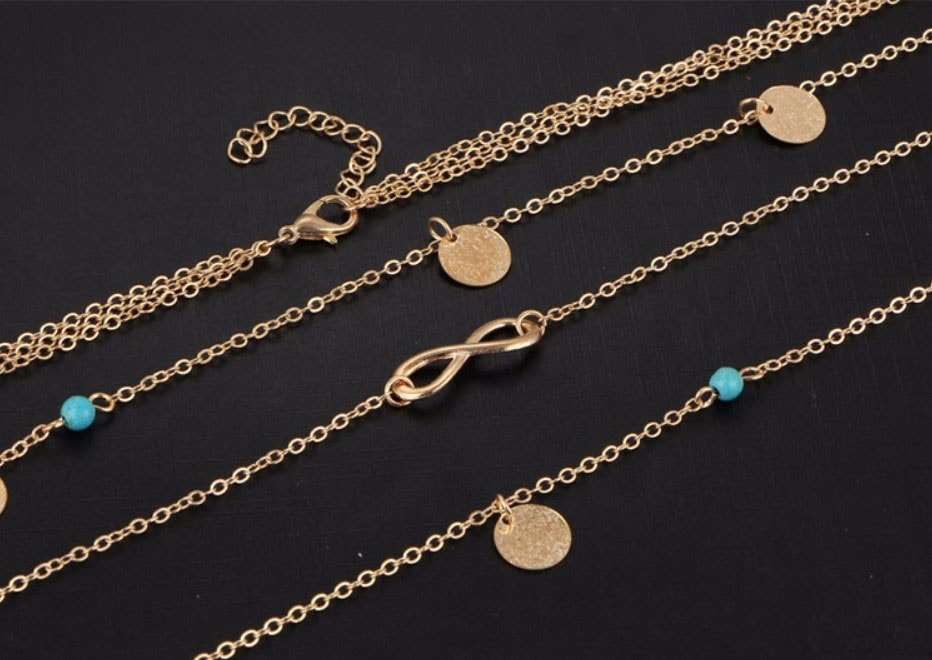 M0315 gold 1sty4 Jewelry Accessories Necklaces Chokers maureens.com boutique