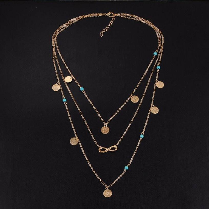 M0315 gold 1sty6 Jewelry Accessories Necklaces Chokers maureens.com boutique