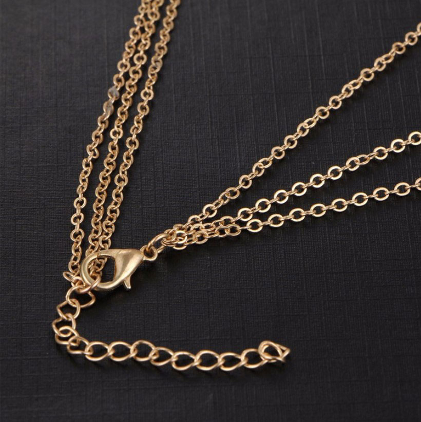 M0315 gold 3sty6 Jewelry Accessories Necklaces Chokers maureens.com boutique