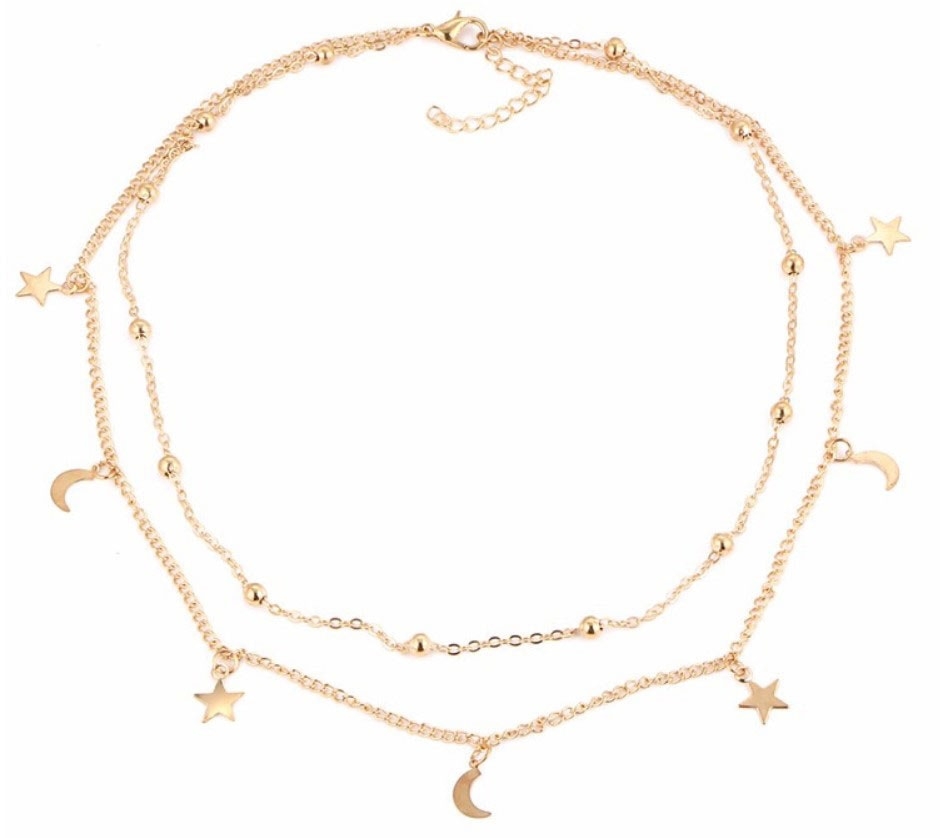 M0315 gold 4sty2 Jewelry Accessories Necklaces Chokers maureens.com boutique