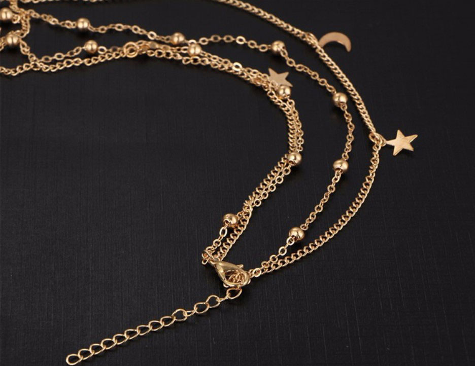 M0315 gold 4sty4 Jewelry Accessories Necklaces Chokers maureens.com boutique