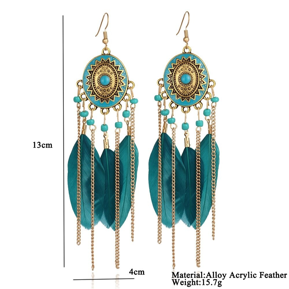 M0316 green8 Jewelry Accessories Earrings maureens.com boutique