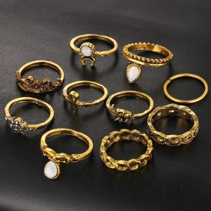 M0317 gold1 Jewelry Sets Rings maureens.com boutique