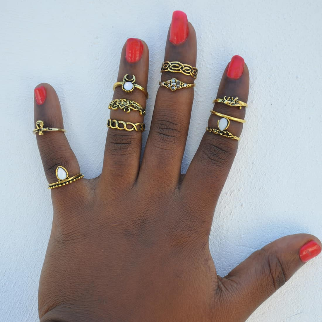 M0317 gold8 Jewelry Sets Rings maureens.com boutique