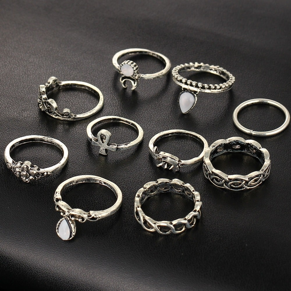 M0317 silver1 Jewelry Sets Rings maureens.com boutique