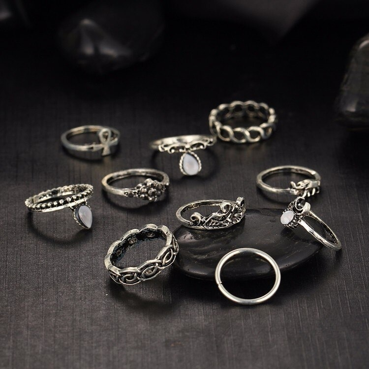 M0317 silver4 Jewelry Sets Rings maureens.com boutique