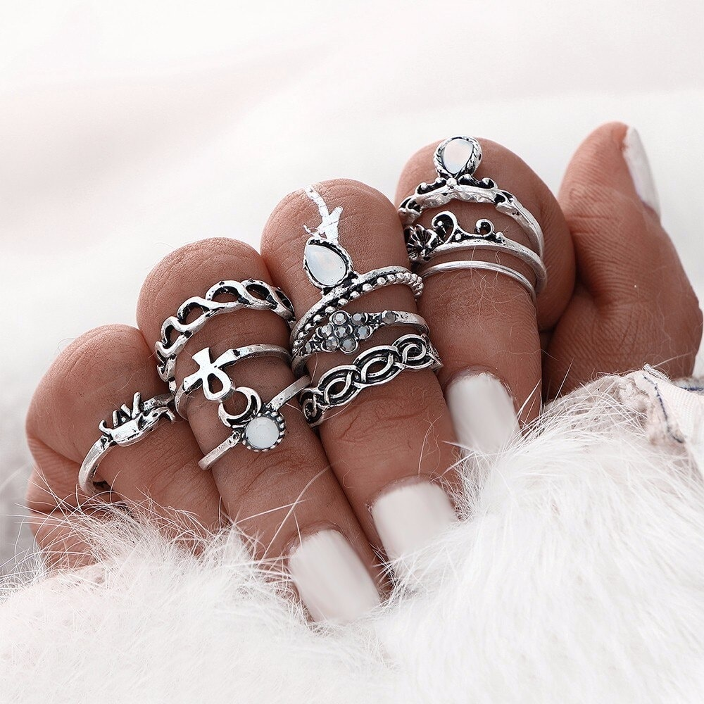 M0317 silver7 Jewelry Sets Rings maureens.com boutique