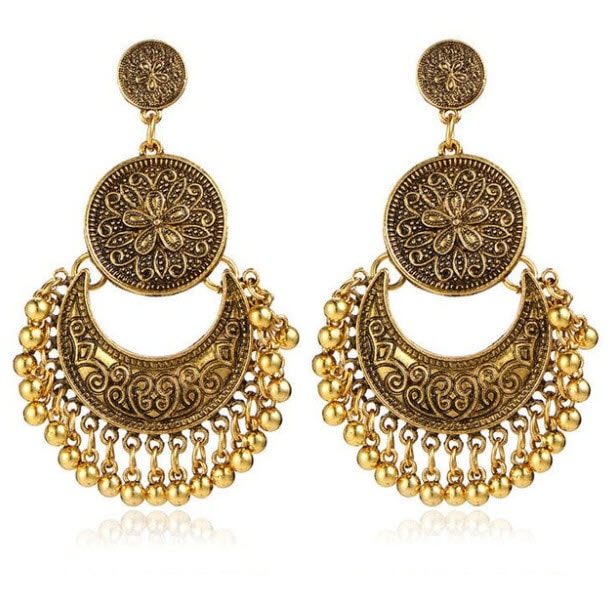 M0319 gold1 Jewelry Accessories Earrings maureens.com boutique