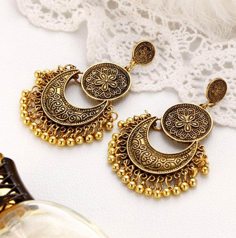 M0319 gold2 Jewelry Accessories Earrings maureens.com boutique