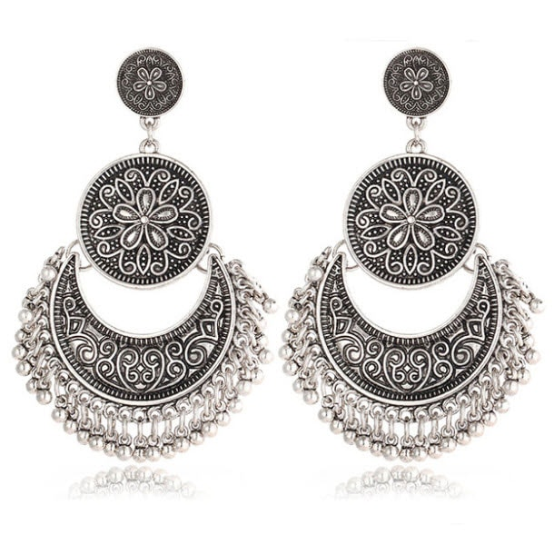 M0319 silver1 Jewelry Accessories Earrings maureens.com boutique