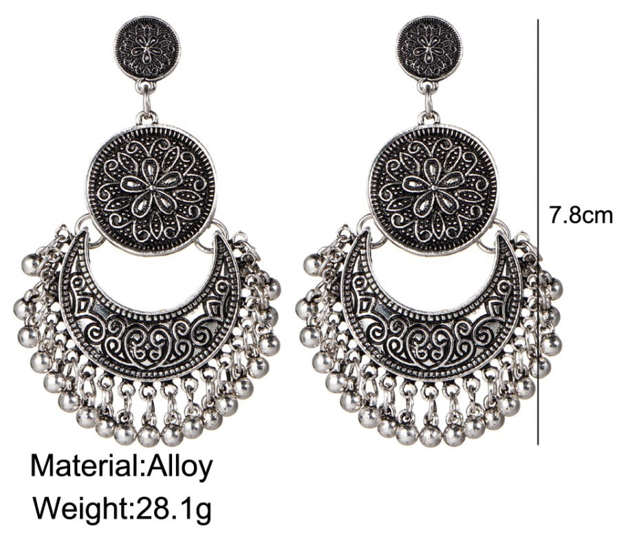 M0319 silver4 Jewelry Accessories Earrings maureens.com boutique