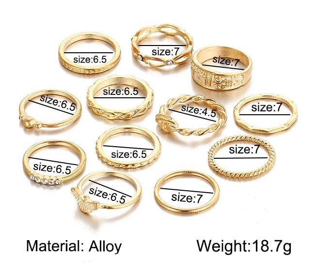 M0320 gold11 Jewelry Sets Rings maureens.com boutique