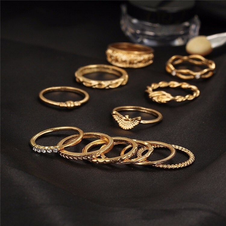 M0320 gold3 Jewelry Sets Rings maureens.com boutique