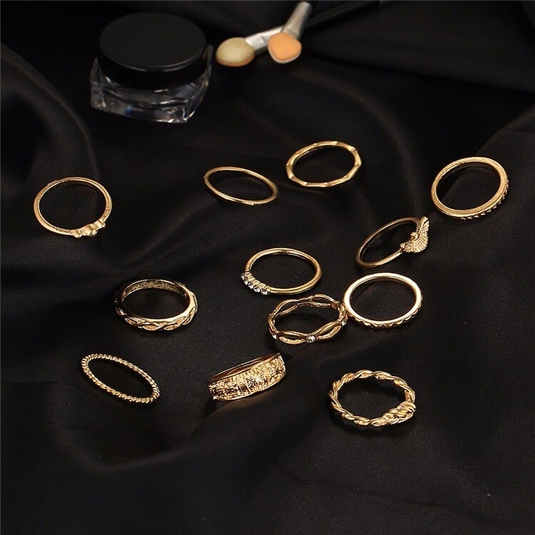 M0320 gold9 Jewelry Sets Rings maureens.com boutique