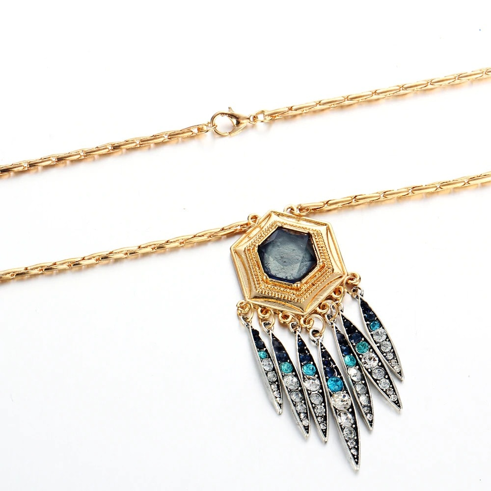 M0323 gold4 Jewelry Accessories Necklaces Chokers maureens.com boutique