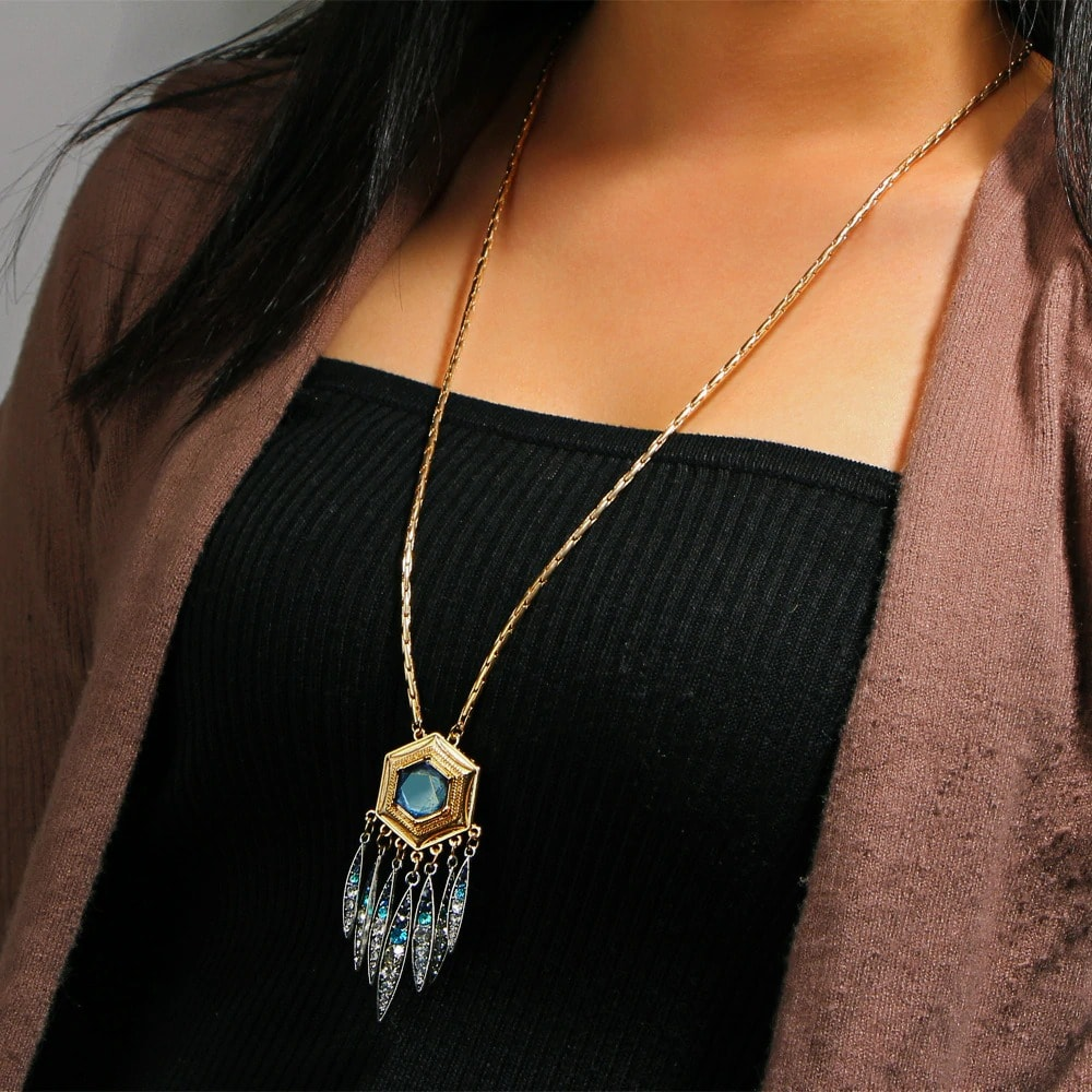 M0323 gold6 Jewelry Accessories Necklaces Chokers maureens.com boutique