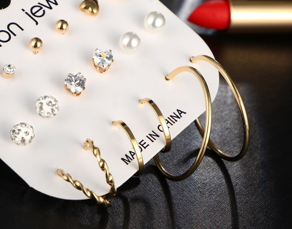 M0324 gold3 Jewelry Sets Earrings maureens.com boutique