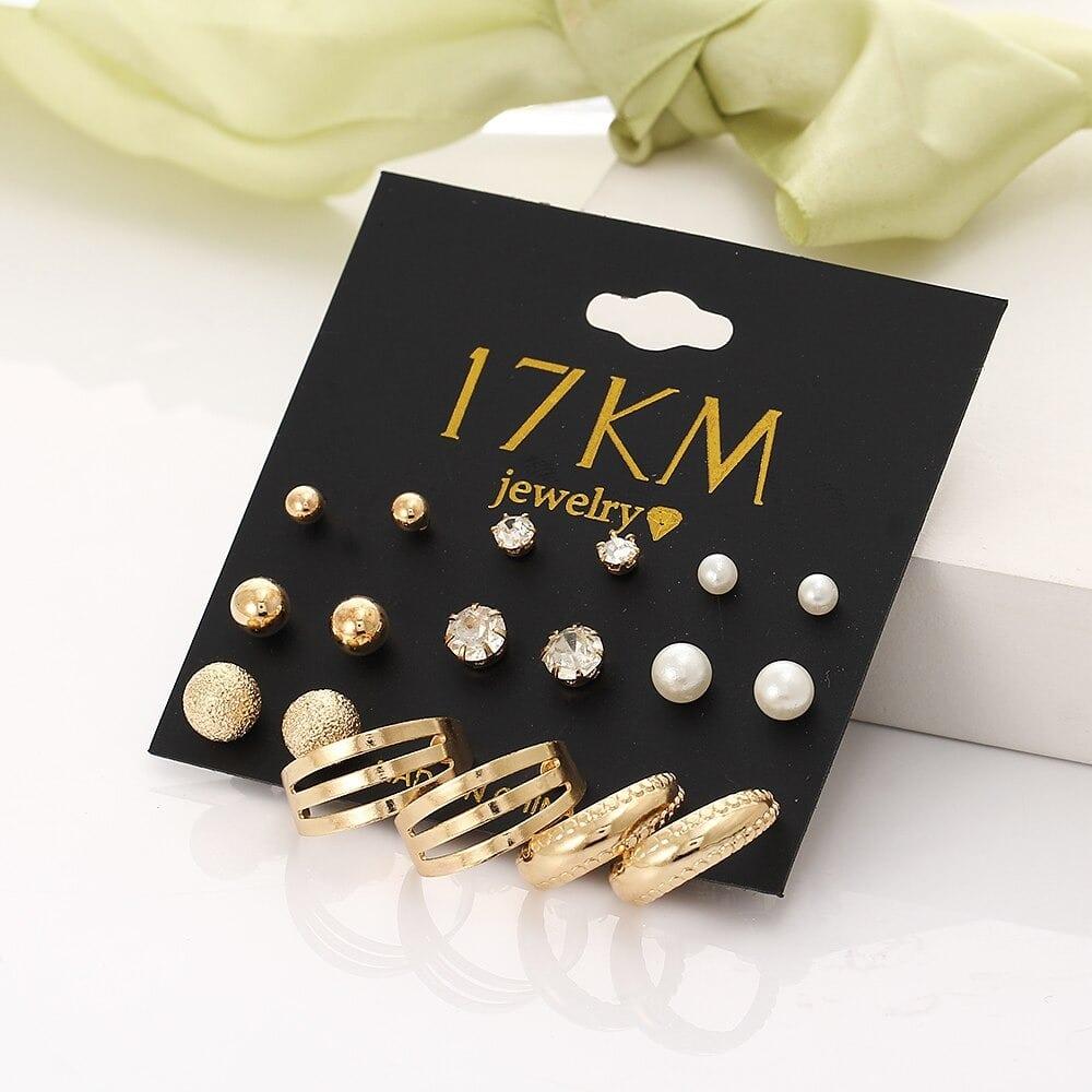 M0325 gold1 Jewelry Sets Earrings maureens.com boutique