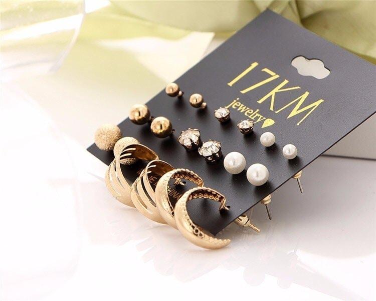 M0325 gold4 Jewelry Sets Earrings maureens.com boutique