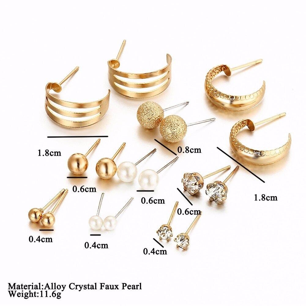 M0325 gold6 Jewelry Sets Earrings maureens.com boutique