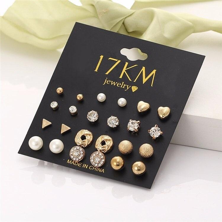 M0326 gold1 Jewelry Sets Earrings maureens.com boutique