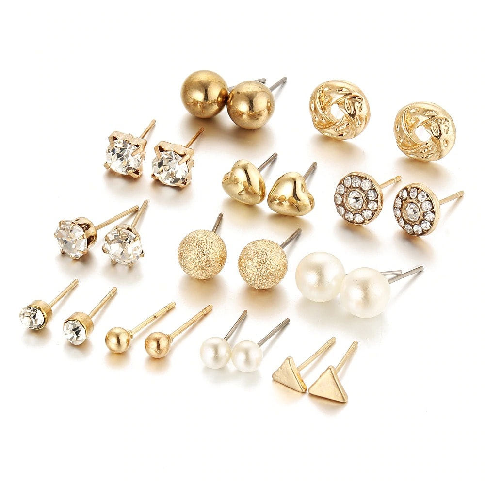 M0326 gold2 Jewelry Sets Earrings maureens.com boutique