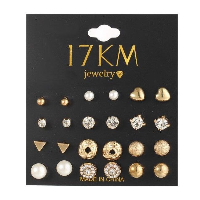 M0326 gold3 Jewelry Sets Earrings maureens.com boutique