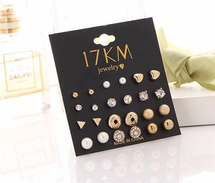 M0326 gold4 Jewelry Sets Earrings maureens.com boutique