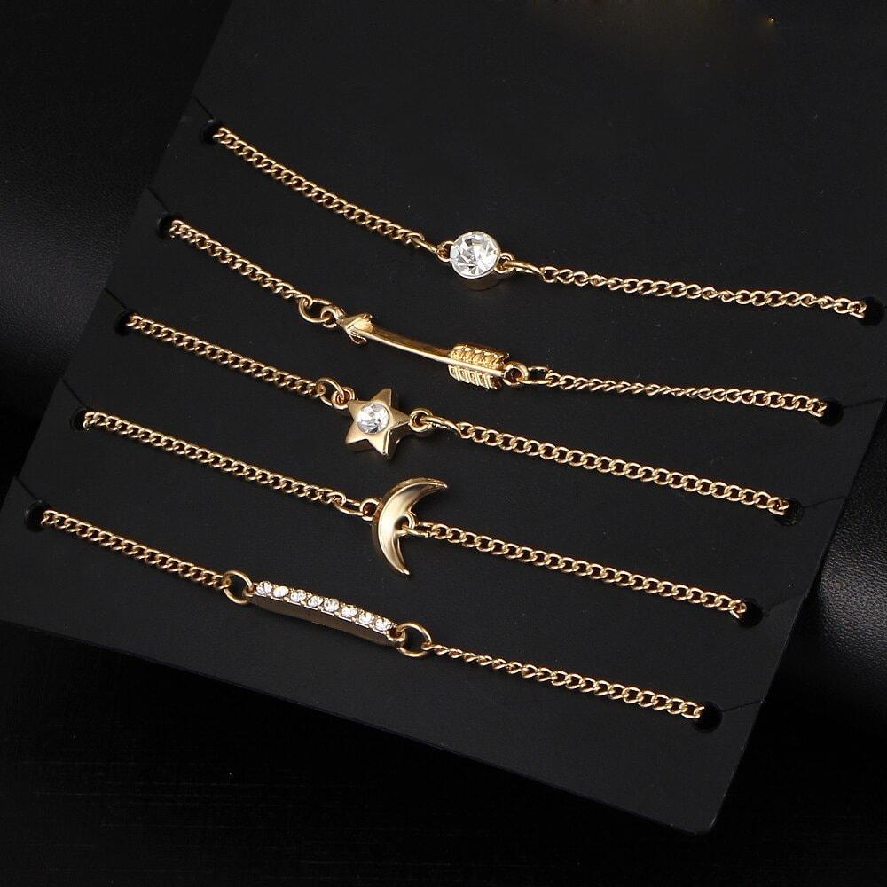 M0327 gold1 Jewelry Sets Bracelets maureens.com boutique