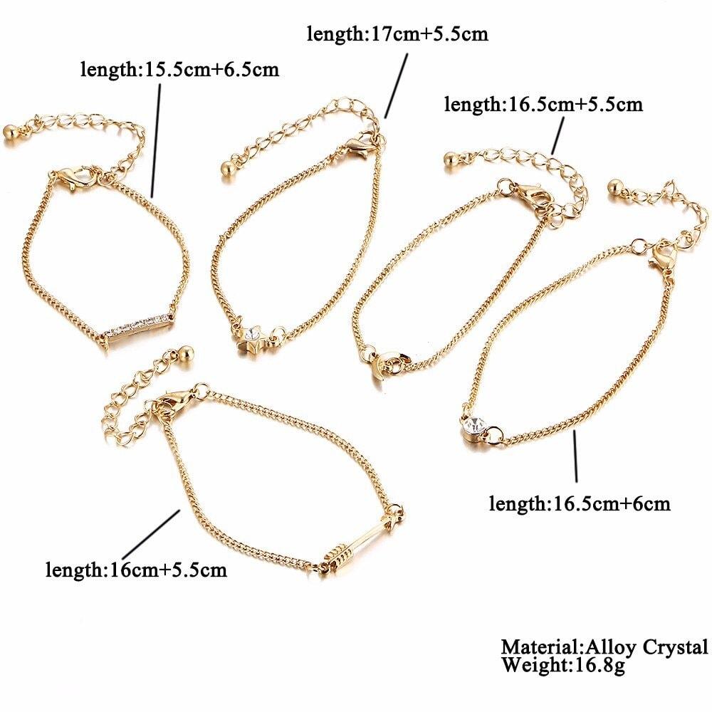 M0327 gold4 Jewelry Sets Bracelets maureens.com boutique