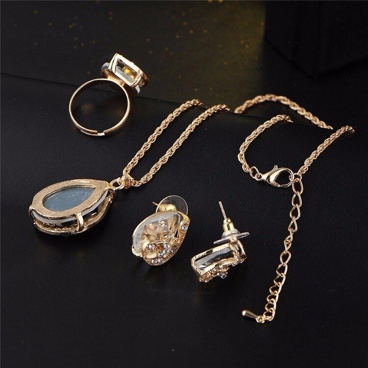 M0329 black4 Jewelry Accessories Jewelry Sets maureens.com boutique