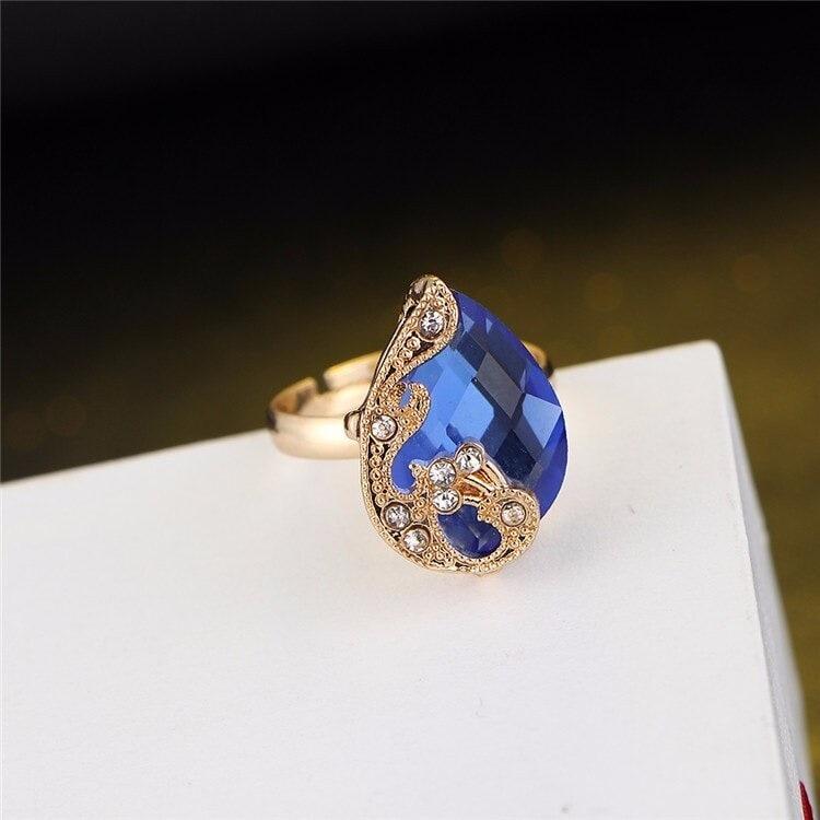 M0329 blue4 Jewelry Accessories Jewelry Sets maureens.com boutique