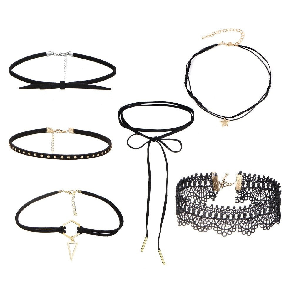 M0330 mixcolor 2sty1 Necklaces Chokers Jewelry Sets maureens.com boutique