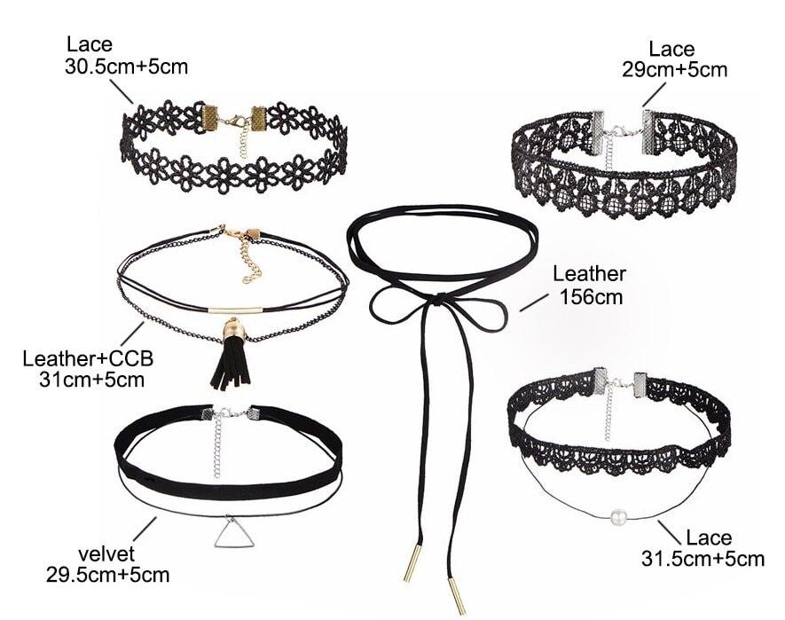M0330 mixcolor 3sty2 Necklaces Chokers Jewelry Sets maureens.com boutique