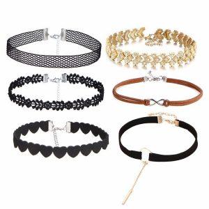M0330 mixcolor 6sty1 Necklaces Chokers Jewelry Sets maureens.com boutique