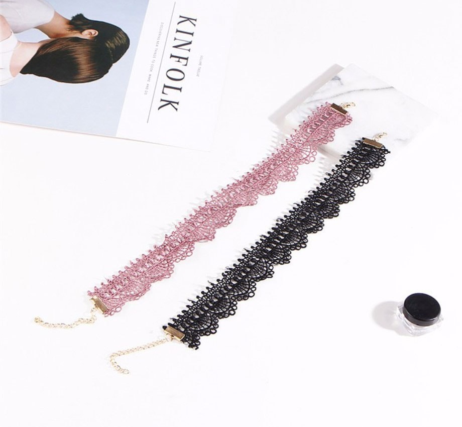 M0331 pink3 Jewelry Accessories Necklaces Chokers maureens.com boutique
