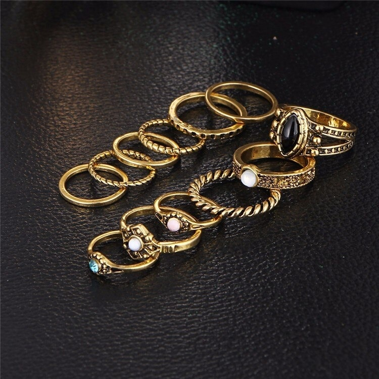 M0332 gold3 Jewelry Sets Rings maureens.com boutique
